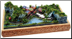 "Miniature Train Layout - Jeopardy Junction 5""x9"" figure-8 layout"