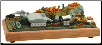 "Miniature Train Layout - 4""x7"" Oval with Coal Mine"