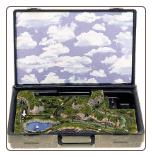 Miniature Train Layout - Briefcase Layout